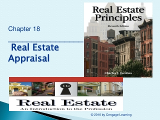 Chapter 18 ________________  Real Estate Appraisal