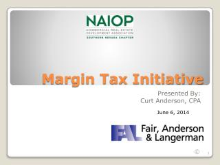 Margin Tax Initiative