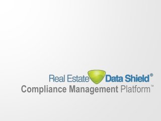 Compliance Management  Platform �