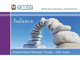 hospital based massage therapy   dale healey