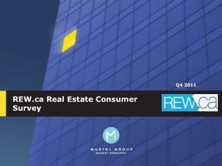 REW.ca Real Estate Consumer Survey
