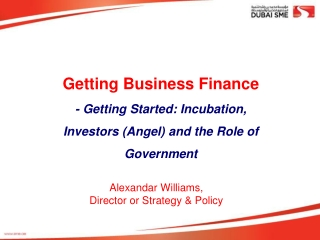 Alexandar  Williams,  Director or Strategy & Policy