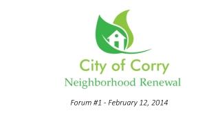 Forum #1 - February 12, 2014