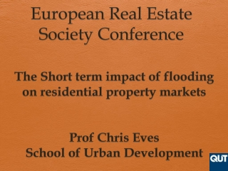 European Real Estate Society Conference