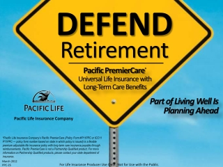 For Life Insurance Producer Use  O nly.  Not for Use with the Public.
