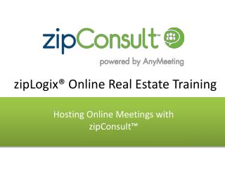 zipLogix� Online Real Estate Training