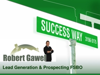 Lead Generation & Prospecting FSBO