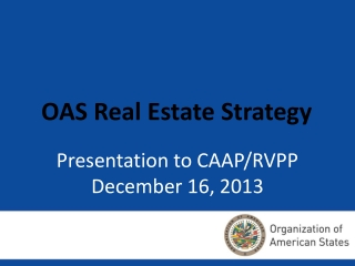OAS Real Estate Strategy
