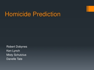 Homicide Prediction