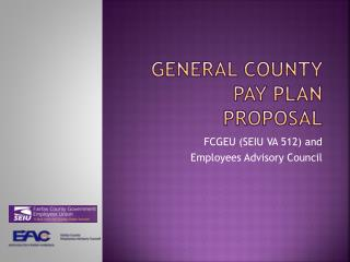 General County Pay Plan Proposal