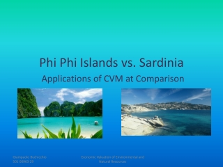 Phi  Phi  Islands vs. Sardinia