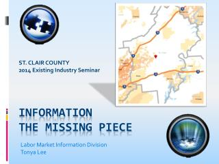 Information  The Missing piece