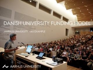 Danish University funding model