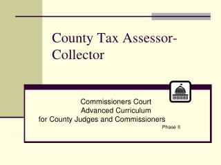 County Tax Assessor-Collector
