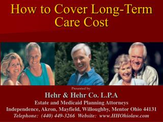 How to Cover Long-Term Care Cost