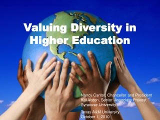 Valuing Diversity in Higher Education