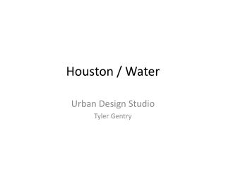 Houston / Water