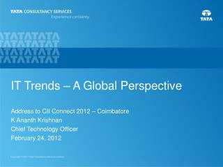 IT Trends – A Global Perspective