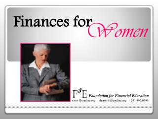 Finances for