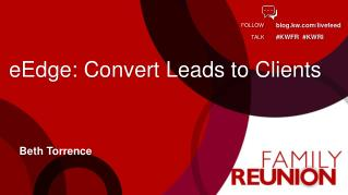 eEdge: Convert Leads to Clients