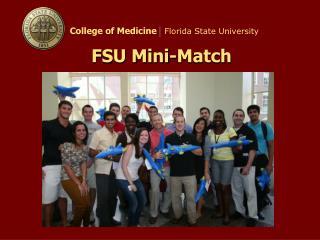 FSU Mini-Match