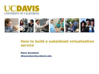 How to build a subsidized virtualization service