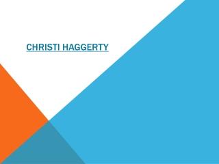 Christi Haggerty