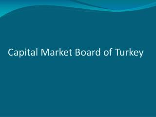 Capital Market Board of Turkey