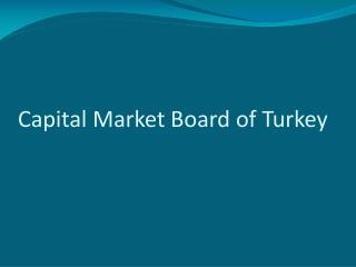 Capital Market Board of Turkey