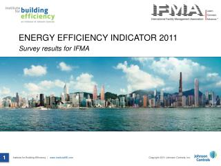 Energy efficiency indicator 2011