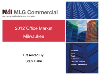 Industrial Office  Retail Investment Corporate Services Property Management