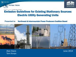 Emission  Guidelines for Existing Stationary  Sources:  Electric  Utility Generating Units