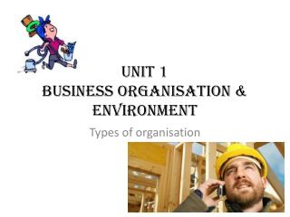 Unit 1 Business Organisation & Environment