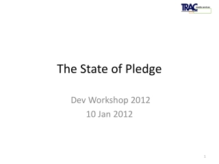 The State of Pledge