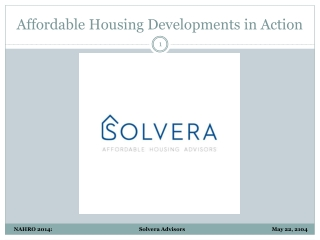 Affordable Housing Developments in Action