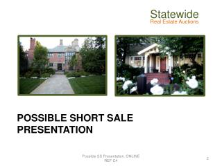 POSSIBLE Short Sale Presentation