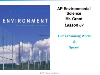 AP Environmental Science Mr. Grant Lesson  67