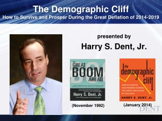 presented by Harry S. Dent, Jr.