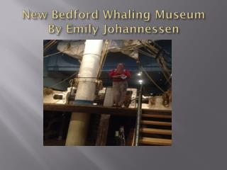 New Bedford Whaling Museum By Emily  Johannessen