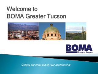 Welcome to  BOMA Greater Tucson