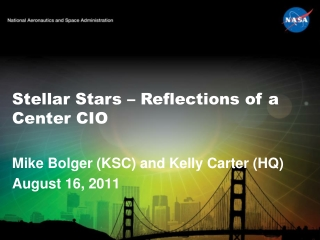 Stellar Stars – Reflections of a Center CIO