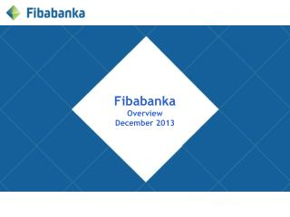 Fibabanka Overview December 2013