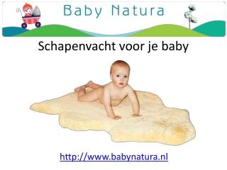 duurzame schapenvacht bij babynatura.nl