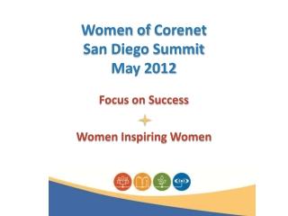Women of  Corenet San Diego Summit May 2012