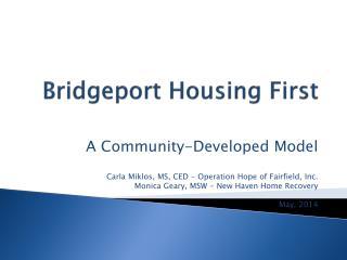 Bridgeport Housing First