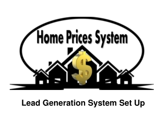 Lead Generation System Set Up