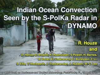 Indian Ocean Convection Seen by the S-PolKa Radar in DYNAMO
