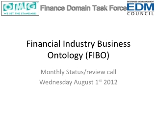 Financial Industry Business Ontology (FIBO)