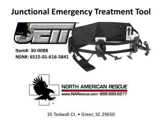 Junctional  Emergency Treatment Tool