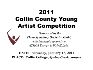 2011  Collin County Young Artist Competition